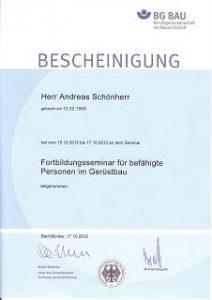 k-Gerüstbau Schönherr