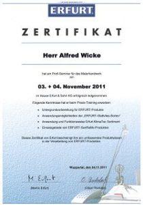 k-Profi-Seminar KlimaTec Dämmtapeten innen sowie alle anderen Erfurt Produkte (1)